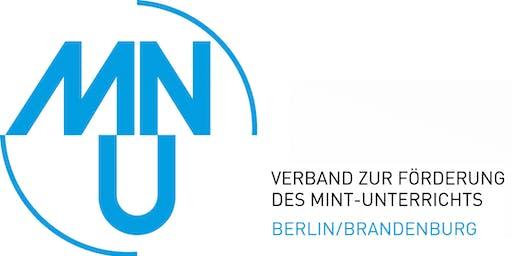 Tagung des MNU Landesverbands Berlin/Brandenburg 2019