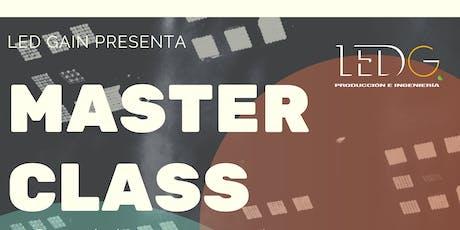 MASTER CLASS INGENIEROS Y PRODUCTORES MUSICALES entradas