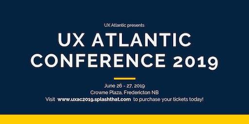 UX Atlantic Conference 2019