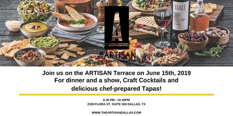 Craft Cocktails and Live Music on the ARTISAN Terrace  tickets