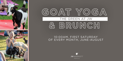 Goat Yoga & Brunch