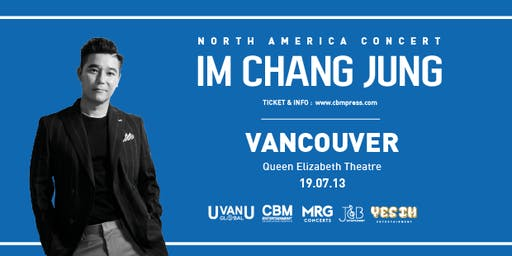 IM Chang-jung North American Tour 2019 - VANCOUVER