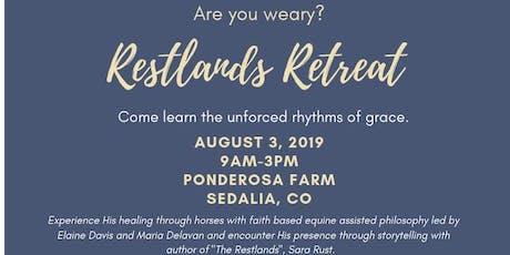 Restlands Retreat tickets