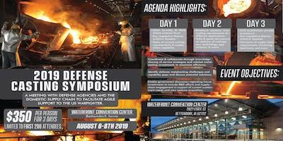 2019 Defense Casting Symposium