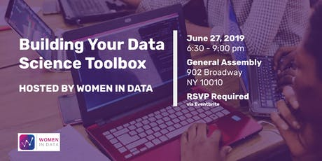Building your Data Science Toolbox hosted by Women in Data  tickets