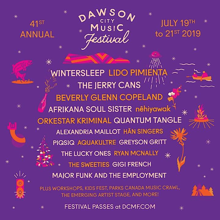 The 41st-annual Dawson City Music Festival image