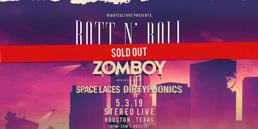 Zomboy: Rott N' Roll Tour - Houston
