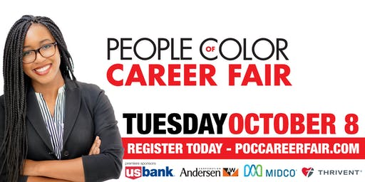 Employer Registration | Fall 2019 People of Color Career Fair | TUES. October 8