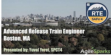 SAFe 5.0 Release Train Engineer (RTE) - Boston - June 2020 tickets