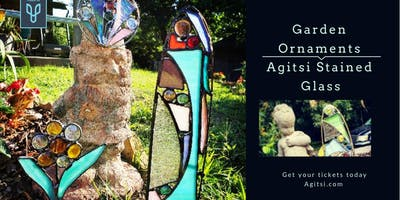 Stained Glass Garden Ornaments, Make N Take class
