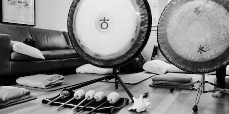 Gong Bath (sound bath/sound meditation) in Central London (June 23) tickets