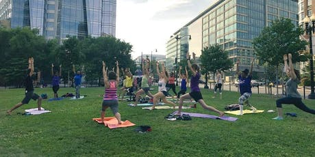 FREE Fitness sessions in Chinatown Park tickets