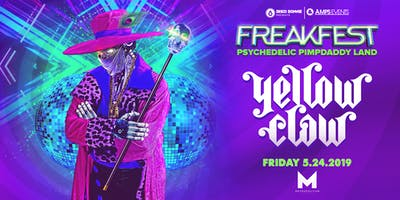 FREAKFEST featuring YELLOW CLAW