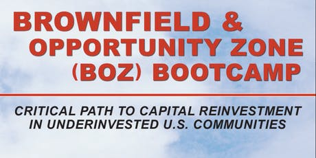 Brownfield & Opportunity Zone Bootcamp - Chicago tickets