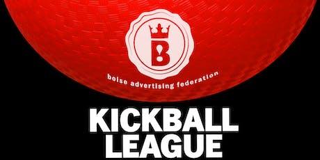 2019 BAF Kickball League (5 weeks) tickets
