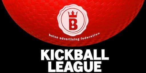 2019 BAF Kickball League (5 weeks)