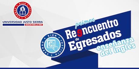 1er Reencuentro de Egresados de Enseñanza del Inglés 2019   UJS entradas