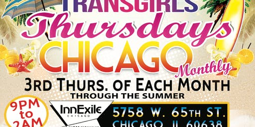 CHICAGO TRANSGIRLS THURSDAYS MONTHLY