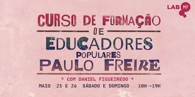 25/05 - CURSO DE FORMAÇÃO DE EDUCADORES POPULARE