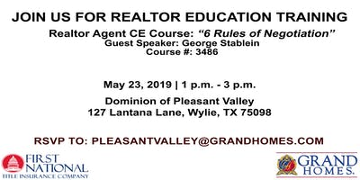 Lunch and Learn CE Course at Dominion of Pleasant Valley