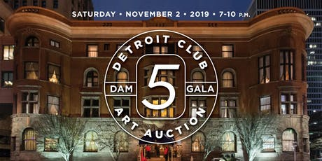 Detroit Club Art Auction: DAM Gala 5 tickets