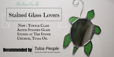 Stained Glass Turtle Make N Take Class