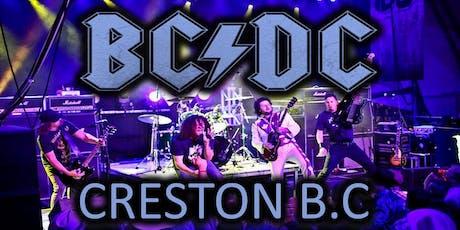 BCDC - Creston tickets