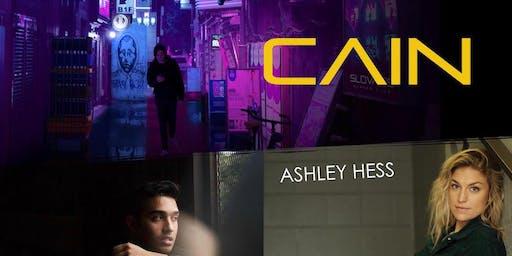 Cain with Jiovanni Daniel, Ashley Hess