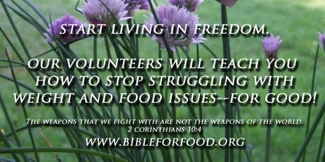 The Bible for Food Summer Conference and Retreat  tickets