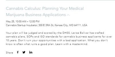 Cannabis Calculus: Medical Marijuana Business Application How To