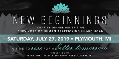 New Beginnings Charity Dinner tickets