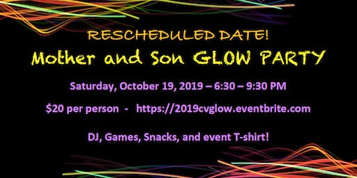 2019 Mother and Son Glow Party - October 19, 2019
