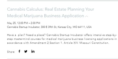 Cannabis Calculus: Real Estate For Your Medical Marijuana Business Applications