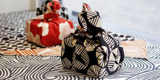 The Art of Japanese Furoshiki Knot-wrapping