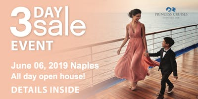 You're Invited! Princess 3 Day Sale Event 2019 Naples