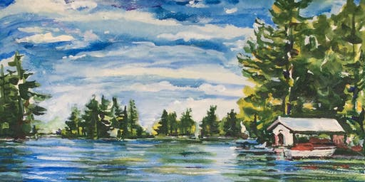Landscape Mandala Painting Workshop