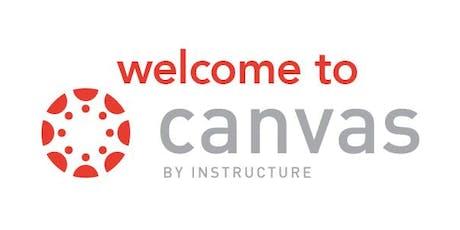 Canvas Basics - Intermediate Session - Registration optional tickets