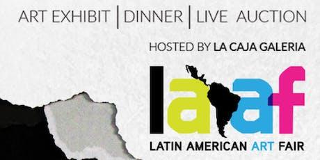 Latin American Art Fair Fundraiser tickets