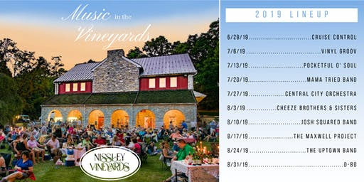 Nissley Vineyards - Music in the Vineyards Summer Concert Series