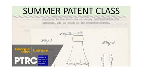 Summer Patent Class (July 23rd) tickets