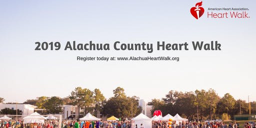 Alachua County Heart Walk