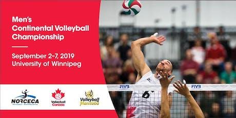 2019 Men's Continental Championship - September 3, 2019 tickets