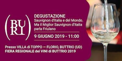 Degustazione: Sauvignon d'Italia e del Mondo. Ma il Miglior Sauvignon d'Italia parla Friulano