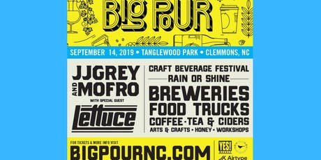 NC'S BIG POUR 2019 tickets