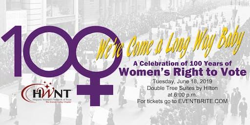 HWNTRGV June Dinner Celebrating 100 yrs of women's right to vote