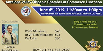 AVHCC June 2019 Luncheon