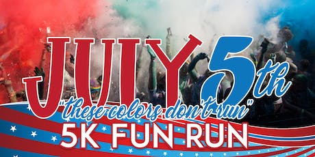 These Colors Don't Run 5k Fun Run tickets