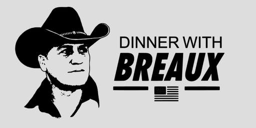 Dinner with Becket Breaux