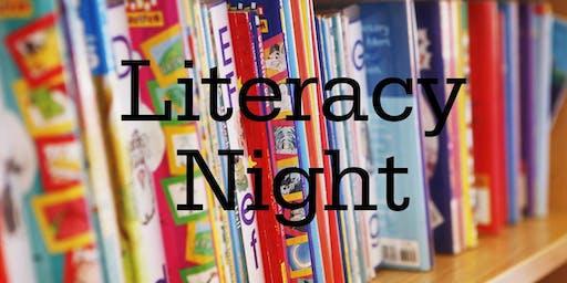 Family Fun Literacy Night / Noche  familiar de literatura