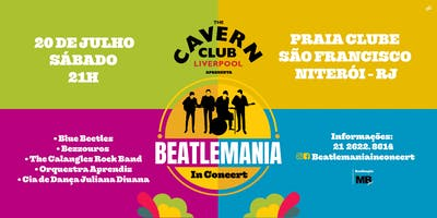 CAVERN CLUB APRESENTA: BEATLEMANIA IN CONCERT